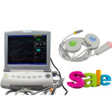 CE ISO Professional 12 Inch Fhr Toco FM Fetal Monitor Nst Ctg Detecting Fetus Fetal Movement Single Twins Optional -Maggie
