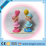 Baby Room Decoration Polyresin Statue Pretty Baby