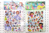 Wholesale Cartoon Sponge Stickers, 3D Puffy Cartoon Stickers for Kids