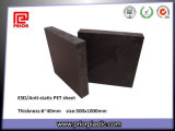 Black ESD Pet Plastic Sheet