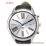 1.4 Inch Round Android Smart Watch X5 Android 4.4 Sport Men Wristwatch SIM Card Anti--Lost WCDMA WiFi Bluetooth 4.0