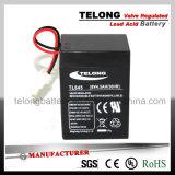 6V4ah Rechargeable Mf Battery for Lighting System