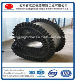 Fertilizer Conveying Belt Eith Corrugated Sidewall