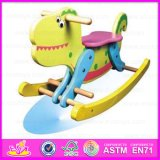 2015 Excellent Wooden Toy Kids Rocking Horse, Lowest Price Wooden Rocking Horse, Intelligence Spring Rocking Horse Toy Wjy-8106