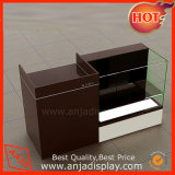 MDF and Glass Checkout Counter for Retail Shops