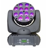DMX512 12X10W RGBW 4in1 Beam Wash LED Moving Head