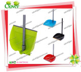 Household Folding Plastic Dustpan with Long Handle