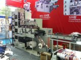 Multicolor Flexo Printing Machine with Three Die Cutting for Sale