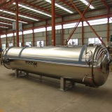 Automatic Horizontal Autoclave Sterilizer for Food Industry