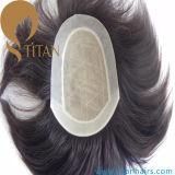 100% Remy Human Hair Injection System Toupee for Men