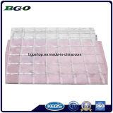 PVC Transparent Mesh Tarpaulin (1000dx1000d 3X3 500g) , File Folder Material, Clear Tent Fabric.