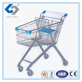 60L European Style Shopping Trolley with Classic Design