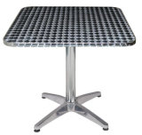 Commercial Cafe Stainless Steel Restaurant Table (DT-06162S)