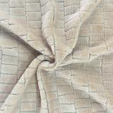 100% Polyester Grid 6 Jacquard Flannel Fleece