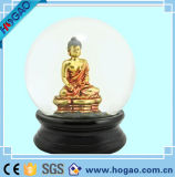 Polyresin Religion Buddha Water Snow Globe