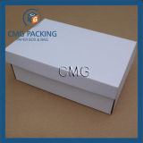 White Cardboard Foldable Shoes Boxes Packaging