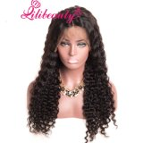 Lili Beautylace Front Human Hair Wigs with Baby Hair Deep Wave Brazilian Hair Wigs for Black Women Natural Black None Remy Hair