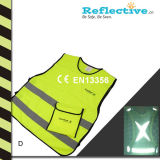 Reflective Safety Vest With En471 Class 2 Standard