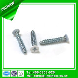 M3.5 White Painted Steel Screw Flat Head Self Tapping Wood Screw