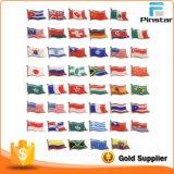 Wholesale Custom Epoxy / Ap Country Flag Lapel Pin