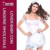 Sexy Maid Uniforms Wholesale Maid Costume (L1197)