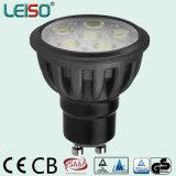 Standard Size 580lm Dimmable 6.5W Nichia GU10 Spot Light (LS-S505)