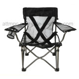 Outdoor Portable Folding Mesh Chair for Camping, Fishing, Beach, Picnic and Leisure Uses