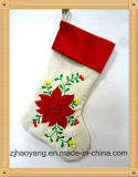 Big Size Flax Material High-Quality Customize Christmas Stocking