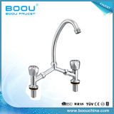 (BQ5328-11) Boou Double Hole and Handles Basin Faucets