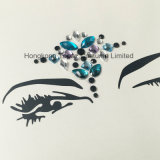 Jewelry Eye Shadow Sticker Party Eye Makeup Self-Adhesive Rhinestone Eye Sticker (S015)