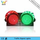 200mm Red Green Signal Light PC Horizontal LED Traffic Light