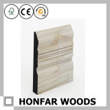 Veneer Wood Skirting Moulding for Flooring Decoration