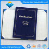 Custom Logo Graduation Use Velvet Paper Diploma Cover