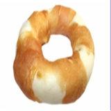 Natural Material Popular Chicken Wrap Rawhide Donut Pet Snacks