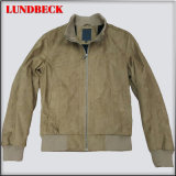 Men′s Suede Jacket with Competitive Price