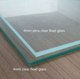 3.2mm Tempered / Toughened Clear Float Solar Thermal Glass