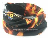 Factory OEM Produce Custom Logo Printing Polyester Neck Tube Bandanna