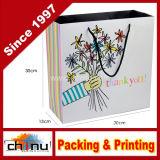 Art Paper White Paper Shopping Gift Paper Bag (210181)