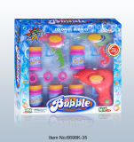 Lovely Summer Colorful Bubble Gun Toy Set