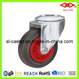 200mm Black Rubber Bolt Hole Castor Wheel (G102-31D200X50)