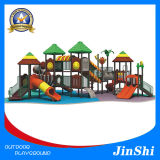 Jungle Adventure Series Children Outdoor Playground, Plastic Slide,Equipment with GS TUV Certificate, CE (CT-001)