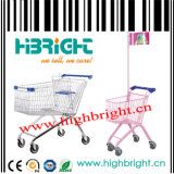 150L Supermarket Metal Shopping Cart