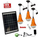 Solar Home Lighting with 3PCS LED Bulb