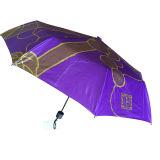 2017 Promotional Cheap Mini Three Folding Umbrella