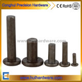 Steel/Iron Flat Head Solid Rivets with High Quality
