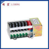 7 Wheels DIN-Rail Electronic Meter Counter, Energy Meter Accessories