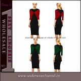 Fashion Women Celebrity Fashion Bandage Pencil Dress (6739)