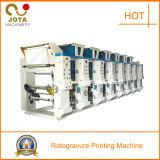 BOPP, Pet, OPP, PVC Plastic Film Rotogravure Printing Press (JT-ASY-800)