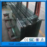 Ce SGCC Certificated 4-19mm Clear Tempered Glass