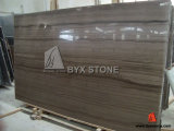 Athens Grey Wooden Marble Slab for Paving Stone, Wall Decoration